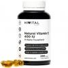 Vitamina E Natural 400 Ui | 200 Perlas | Más De 6 Meses De Suministro