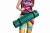 Bootymats - Colchoneta Fitness Multifunción Para Todo Tipo De Entrenamiento: Fitness, Pilates, Abdominales, Estiramientos... Medidas: 160 X 60 Cm. Grosor: 9 Mm. Verde