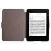 "Funda Libro Con Tapa Rigida Para Amazon Kindle Paperwhite 6"" Piel Negro Iman Eco"