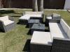 Conjunto Los Ángeles Deluxe Color Marrón, Muebles De Jardin Y Exterior – Kiefergarden