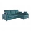 Sofa Chaise Longue Ecologico Gris Claro Tanuk Mimir Derecha 4 Plazas