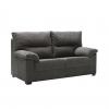 Sofa Ecologico Tanuk Odin 3 Plazas Gris Oscuro