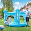 Teamson Kids Piscina Inflable/pelopincho Castillo Azul Para Niños Tk-48271b-uk/e