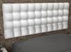 La Web Del Colchon -cabecero Tapizado Manhattan Para Cama De 200 (210 X 70 Cms) Blanco