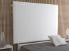 La Web Del Colchon -cabecero Tapizado Paros Big Para Cama De 80 (90 X 165 Cms) Blanco