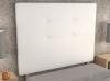 La Web Del Colchon -cabecero Tapizado Atenas Big Para Cama De 105 (115 X 165 Cms) Blanco