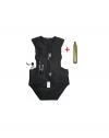 Chaleco Airbag Moto / Equitación Niños Talla S ( 3-6 Años   95-110 Cm) Incluye Bombona Co2 35grm