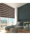 Enrollable Platinum Duolux Chocolate - Medidas Enrollable - 180x250cm