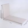 Pack 2 Cojines Para Tumbona De Exterior Estándar Olefin Color Crudo   Tamaño 196x60x5 Cm   No Pierde Color   Desenfundable