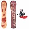 Pack Snowboard Flames 2020 Bextreme +  Fijaciones  Talla 44-46