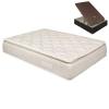 Pack Colchón Pillow Top Doble Cara 33 Cm + Canapé 105x200 Cm. Pikolin