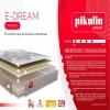 Pack Colchón Smart Pik Edream + Canapé Blanco 150x190 Cm. Pikolin
