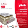 Pack Colchón Smart Pik Enap + Canapé Blanco 80x200 Cm. Pikolin
