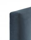 Cabecero Modelo Buttons Cama 150 Terciopelo Color Dark Blue