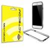 Actecom Funda Bumper Para I.phone 7 Plus 5,5 Negro-transparente Carcasa Protectora