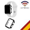 Actecom Carcasa Protector Para Apple Watch 38 Mm Semi Rigida Negra Serie 1