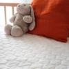 Babysom - Colchón Cuna Bebé Esencial + 1 Protector De Colchón Impermeable De Regalo - Antiácaros - 60x120 Cm - Antiasfixia - Transpirable - Reglaje Térmico