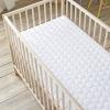 Babysom - Colchón Cuna Bebé Esencial + 1 Protector De Colchón Impermeable De Regalo - Antiácaros - 70x140 Cm - Antiasfixia - Transpirable - Reglaje Térmico