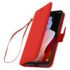Funda Libro Cartera F. Soporte Tcl 10l - Rojo