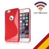 Actecom Funda Iphone 6 Plus Agujero Funda Protectora Silicona Iphone 6 Plus Color Gel De Tpu Suave Con Absorción De Impactos