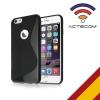 Actecom Funda Iphone 6s Plus Agujero Funda Protectora Silicona Iphone 6s Plus Color Gel De Tpu Suave Con Absorción De Impactos