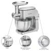 Proficook Km 1151 - Robot De Cocina Con Batidora Amasadora De 6,5 Litros, 3 Accesorios, Picadora Carne, Cuerpo Metal, 1300w