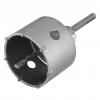 Corona De Sondeo Con Adaptador Vástago Sds-plus Wolfcraft Diámetro 105 Mm