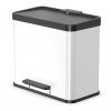 Cubo Con Pedal Oko Duo Plus Tamaño L 17+9 L Blanco 0630-230 Hailo