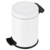 Papelera Con Pedal Solid Blanco S 3l Hailo
