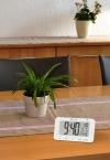 Reloj Despertador Con Temperatura Y Humedad Explore Scientific  - Blanco
