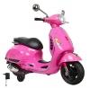 Scooter Vespa Rosa 12v