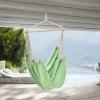 Sillón Colgante - 180 X 125 Cm - Hamaca - Hasta 150 Kg - Para Uso En Interiores Y Exteriores - Se Puede Girar 360° - Silla Colgante - Verde Pastel [casa.pro]®