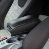 [pro.tec] Reposabrazos Central Para Audi A3 S3 8p - Año De Fabricación 2004-2010 - Apoyabrazos Con Compartimento - Tapizado - Polipiel - Negro Con Costuras De Color Negro