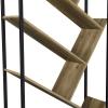 [en.casa] Estante Para Libros - Superficie De Mdf - Apariencia De Madera - 180cm X 80cm X 30cm