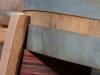 Set De 3 Pies Para Barriles O Maceteros, Duelas De Barril - Altura 9cm