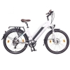 "Bicicleta Eléctrica Ncm Milano Plus 26"", 48v 16ah 768wh, Blanco"