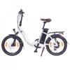 "Ncm Paris 20"" Bicicleta Eléctrica Plegable, Batería 36v 15ah 540wh, Blanco"