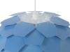 Lámpara De Techo Azul Grande Segre