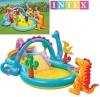 Piscina Hinchable Para Niños Tipo Castillo Dinosaurio + Accesorios Intex 333x229