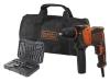 Taladro Percutor 13mm Set 32 Accesorios 710 W - B&d - Beh710sa32