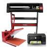 Kit De Plotter Para Corte De Vinilo Pixmax, Impresora Y Prensa De 38cm