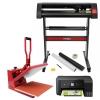 Plotter Para Corte De Vinilo Pixmax, Impresora, Prensa De 38cm Y Kit Weeding