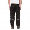 Caterpillar - Pantalones De Trabajo Resistentes Al Agua Modelo H20 Defender Para Hombre (91cm - Corto) (grafito Negro)