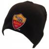 As Roma - Gorro De Punto Modelo Champions League (talla Única) (negro)