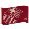 Fc Barcelona - Bandera Grande Con Escudo (talla Única) (granate)