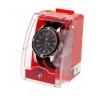 Atletico Madrid Fc - Reloj Del Equipo Para Hombre (talla Única) (negro/rojo)
