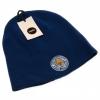 Leicester City Fc - Gorro De Punto Unisex (talla Única) (azul)