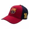 Fc Barcelona - Gorra Modelo Messi (talla Única) (rojo/azul)