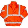 Warrior - Chaqueta Bomber Reflectante Tulsa Para Hombre Caballero (3xl) (naranja Fluorescente)