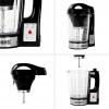 Duronic Bl78 Robot Cocina Para Sopas, Batidora, Vaporera, Vaso De Cristal 1.75l